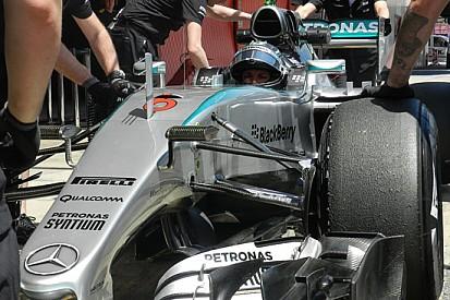 Barcellona, Day 1, Ore 13: Rosberg ha già finito un Gp