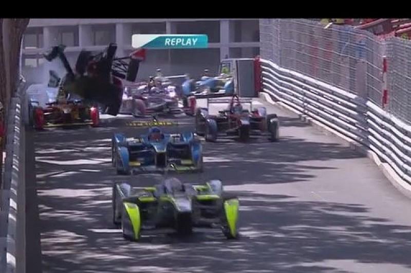 In un filmato il crash di Bruno Senna a Monaco