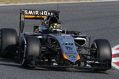109 giri per la Force India e il rookie Nick Yelloly