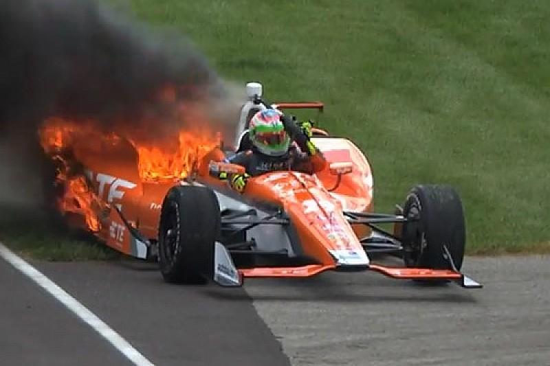 Indy 500, Day 2: Castroneves ok, De Silvestro a fuoco