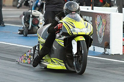 Pro Stock Motorcycle's Steve Johnson aims to solve Atlanta Dragway struggles
