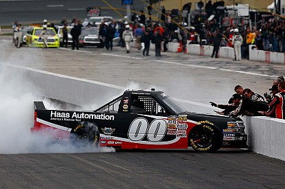Kasey Kahne fastest in truck return