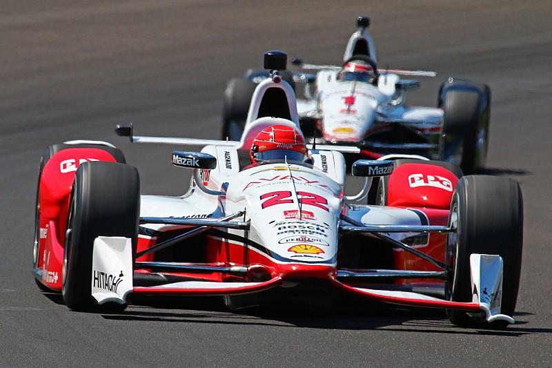 Simon Pagenaud le plus rapide à Indianapolis, tonneau pour Newgarden