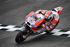MotoGP Practice report Dovizioso sets the bar in first practice at Le Mans