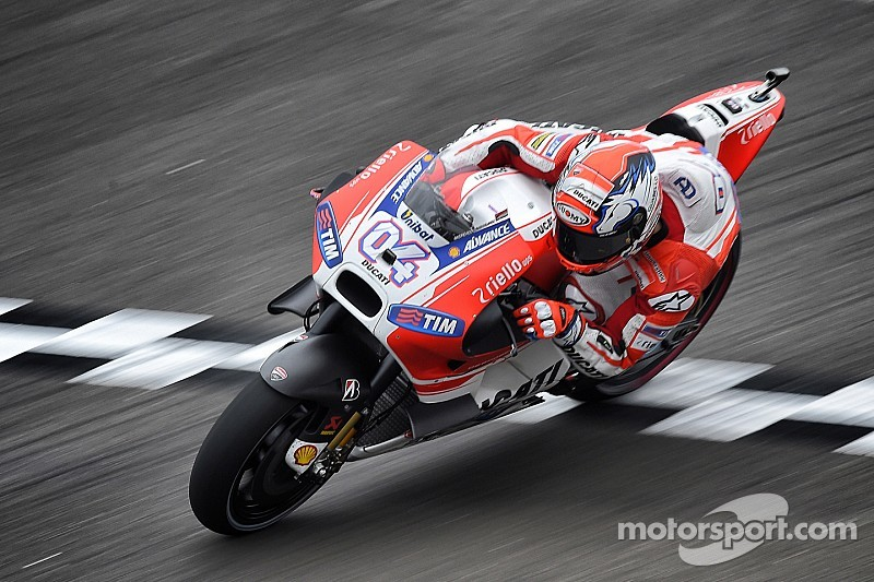 Dovizioso sets the bar in first practice at Le Mans