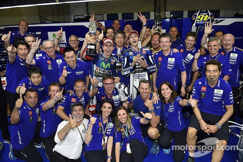 Trois victoires sur quatre? Yamaha n'osait pas en rêver!