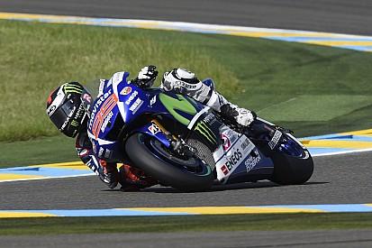 Lorenzo marcó el mejor tiempo en la tercera práctica