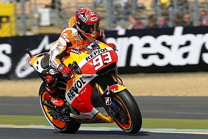 Marc Marquez storms to Le Mans pole