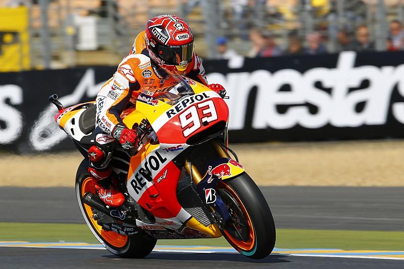 Marc Marquez storms to Le Mans pole