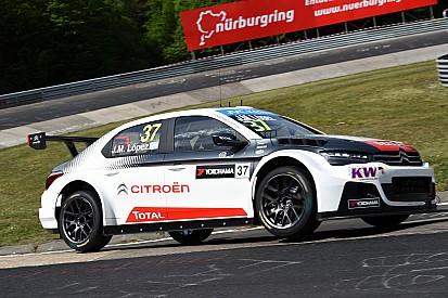 Vidéo - Lopez évite de justesse un accident avec son équipier de chez Citroën