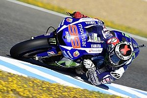 MotoGP Qualifying report Lorenzo demonstrates pace at damp Le Mans