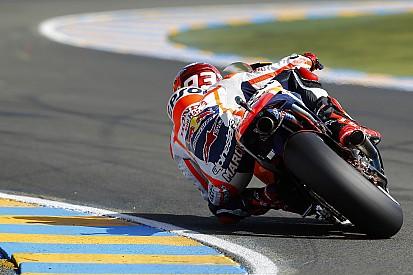 GP de France- Marc Marquez se sait plus lent que Lorenzo en course