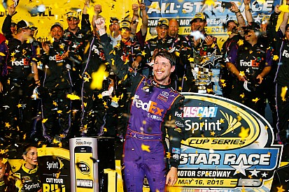 Hamlin earns first All-Star Race victory for JGR