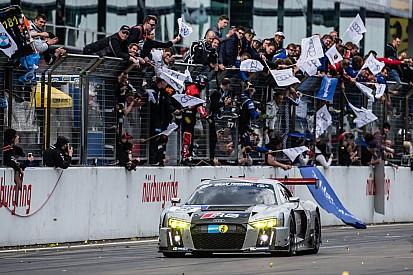 24 Horas de Nürburgring: el WRT Audi sobrevive a un incendio para ganar la carrera