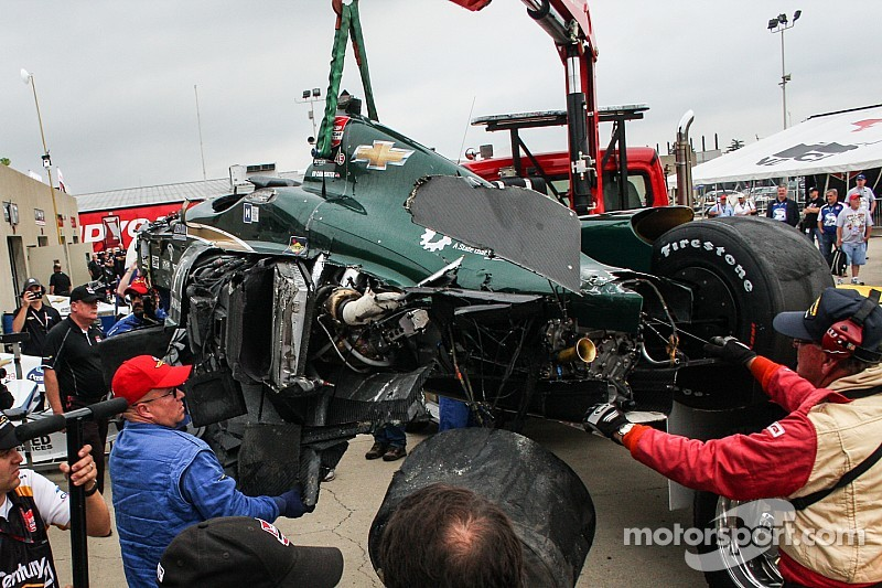 Indy 500 cars revised after multiple practice flips