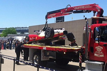 Team Penske admits they put Castroneves in 'bad situation'