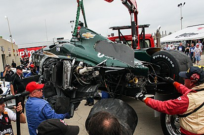 Cambios en los autos para Indy 500 debido a los accidentes