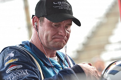 Lazier bumped out of Indy 500, wants to be back next year