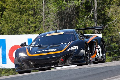 Podium performance for K-PAX Racing with Flying Lizard Motorsports at Mosport