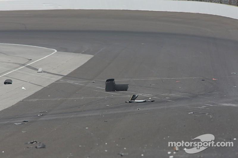 Hinchcliffe sofre grave acidente no treino livre desta segunda em Indianápolis