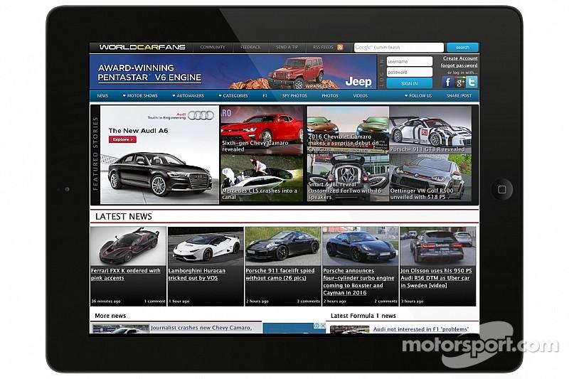 Компания Motorsport LLC объявила о приобретении портала WorldCarFans.com