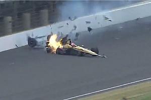 IndyCar Actualités Vidéo - Les équipes de sécurité déterminantes dans le crash de Hinchcliffe