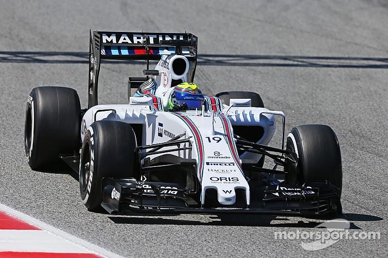 Massa advierte del exceso de carga aerodinámica para 2017