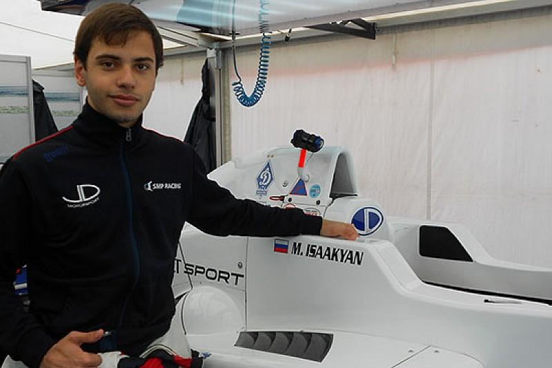 Matevos Isaakyan svetta nelle prove libere di Pau