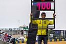 Luis Salom festeggia i suoi 100 Gp a Le Mans