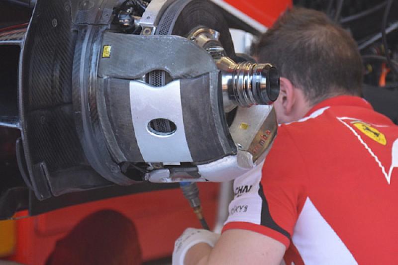 Ferrari: già modificato il cestello con i due fori tondi