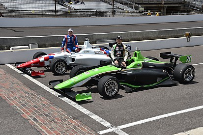 Indy Lights lap record decimated as Ethan Ringel snags pole for Freedom 100
