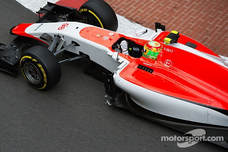 Merhi unfazed by Thursday practice crash