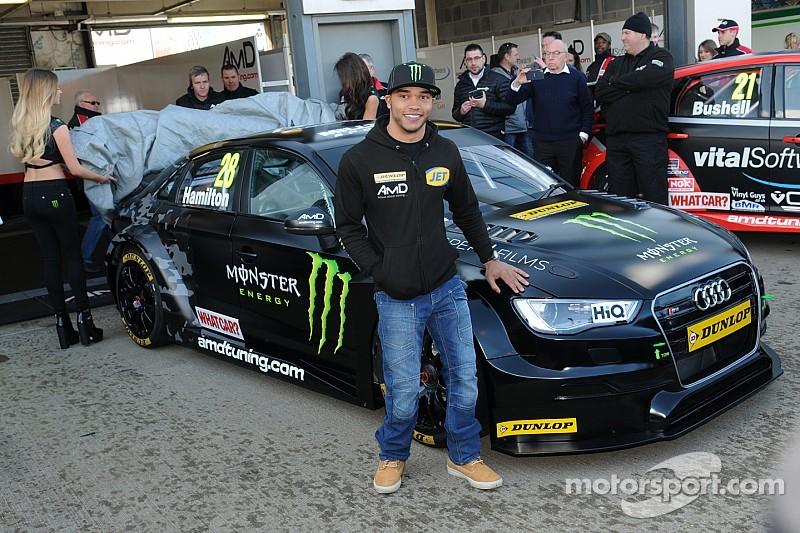 Hamilton gets first BTCC test mileage at Brands Hatch