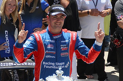 Harvey makes Indianapolis Motor Speedway history with Freedom 100 win