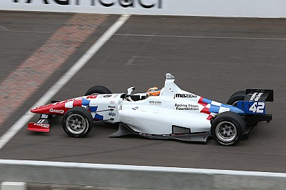 Briton Harvey Heads Schmidt Peterson Sweep of Indy Lights Freedom 100