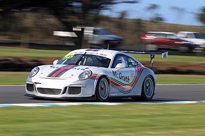 Percat and Smollen secure pole for Porsche Pro-Am