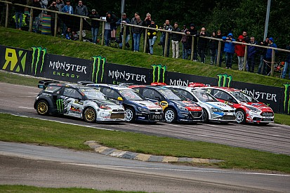 Solberg leads at Lydden Hill after double heat win