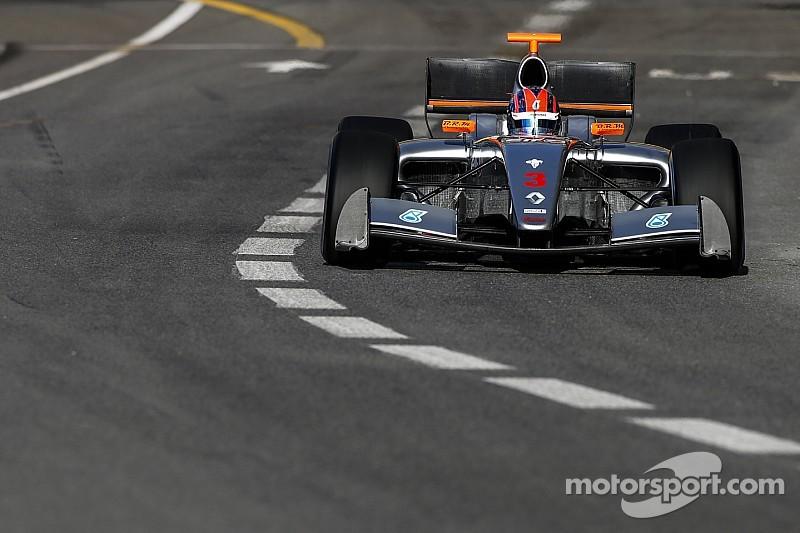 Monaco FR3.5: Jaafar dominates crash-strewn race