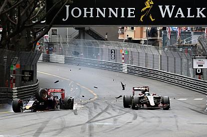 """Verstappen """"me sorprendió Grosjean"""""""