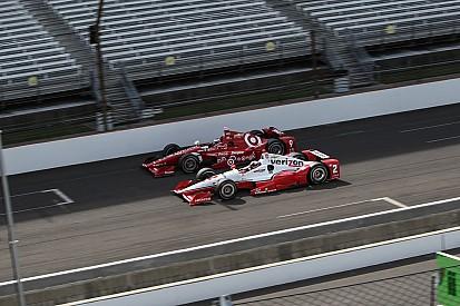 Penske and Ganassi control Indy 500 at halfway point