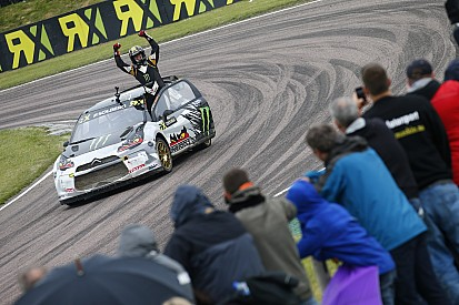 Solberg wins at Lydden Hill and extends World RX championship lead