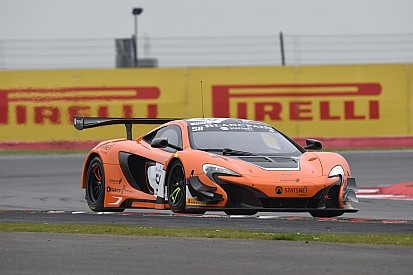 McLaren takes dominant first Blancpain win at Silverstone