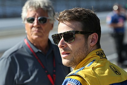 "Andretti denied at Indy once again: ""I don't show up to finish sixth"""