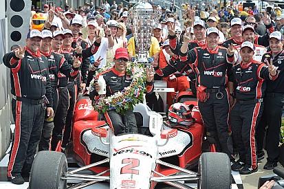 Montoya celebró dos días su victoria en Indy