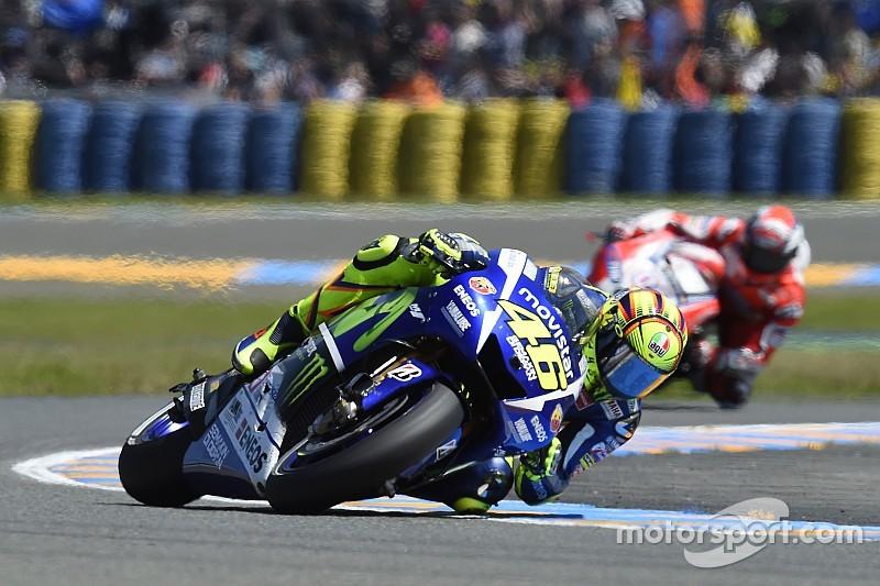 Rossi quiere ser primero en Italia
