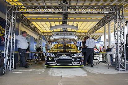 NASCAR busts three Sprint Cup teams for infractions at Charlotte Motor Speedway