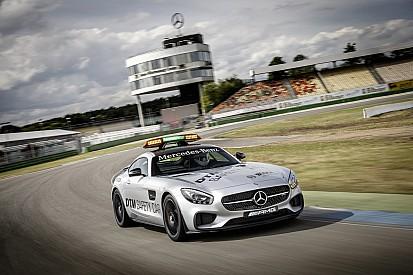 Le nouveau Safety Car Mercedes en piste en DTM sur le Lausitzring