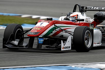 Rosenqvist wins Prema battle for pole in Monza opener