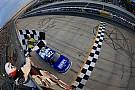 Reddick robs Jones of victory in Truck race at Dover