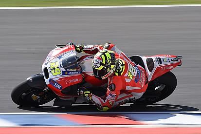 Premier objectif rempli pour Ducati